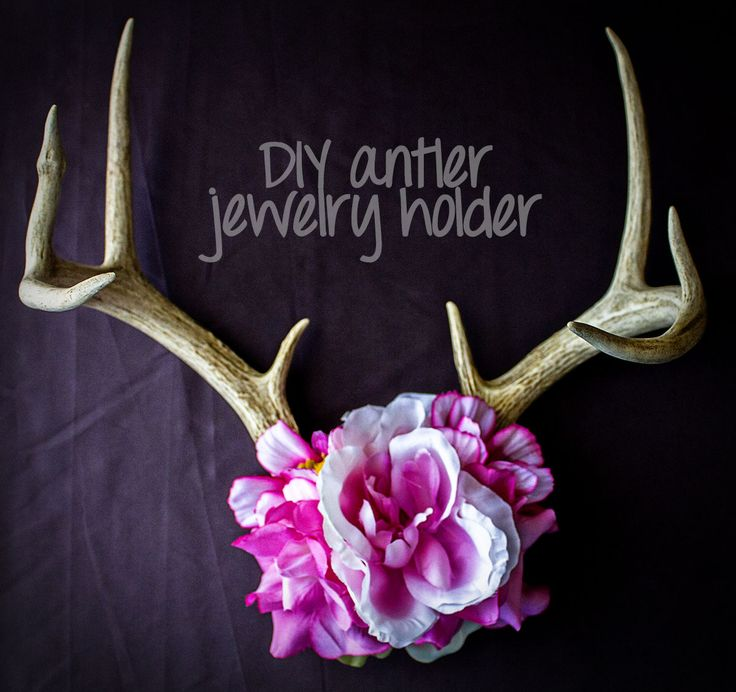 neha made: Antler Jewelry Holder                                                                                                                                                                                 More