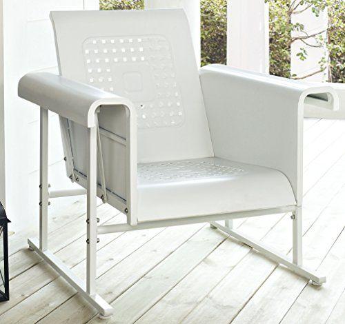 Crosley Veranda Single Glider Chair, Alabaster White Crosley http://www.amazon.com/dp/B00C3ORN1K/ref=cm_sw_r_pi_dp_687Yvb13QVKDN