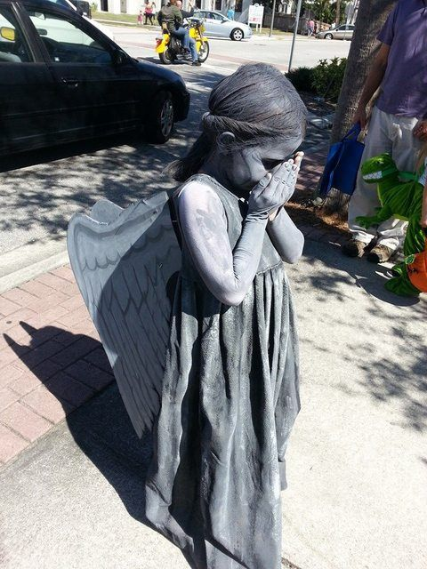 8 Halloween costumes you'll love  for kids - including this Doctor Who inspired weeping angel