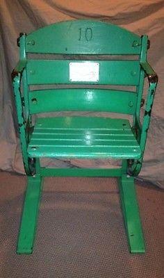 1910-1990 OLD COMISKEY PARK Stadium Box Seat / Chicago White Sox Game Used