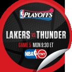 LA Lakers vs. Oklahoma City Thunder #5