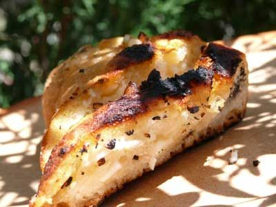 Barbeque Garlic Bread - Spanish BBQ Recipes