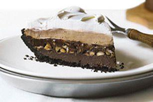 recette de Tarte chocolatée à trois étages - Kraft Canada