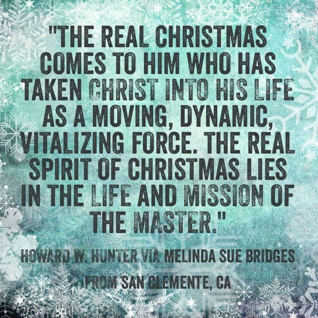 109 Best Christmas Lds Images On Pinterest: Lds Christmas Quotes. QuotesGram
