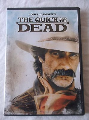 Louis L'Amour's : The Quick and the Dead (DVD) Sam Elliot Kate Capshaw Tom Conti