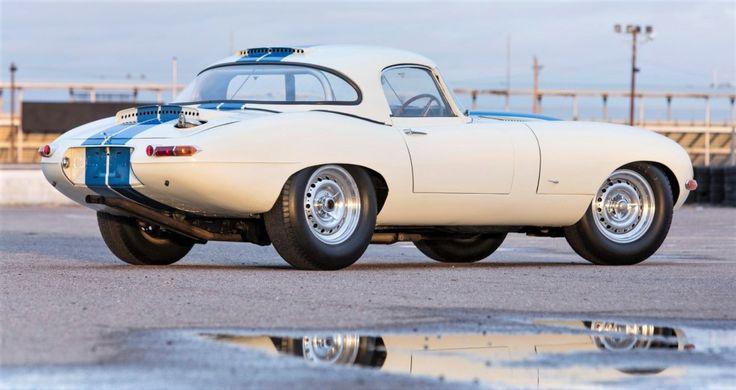 Coveted 1963 Jaguar E-type 'lightweight' racer