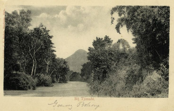 Goenoeng Bohong te Tjimahi 1895 - 1910