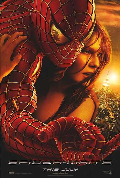 Wednesday was movie day! From Evil Dead I went to Raimi's good Spider-Man flicks. So 1 & 2 only. Love these movies!! Also I love the nods to Evil Dead in this one. Very wink wink to the director's fans.