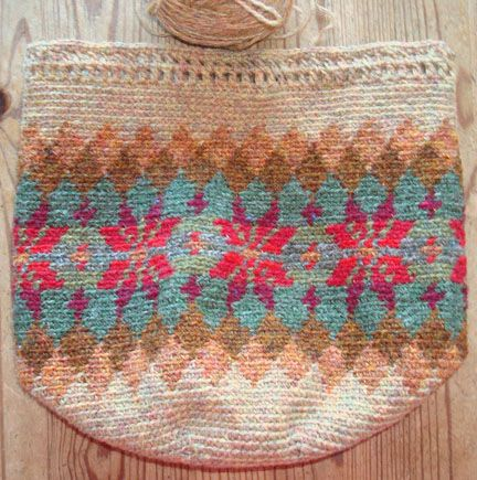 beautiful fair isle style tapestry crochet