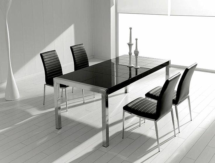 mesa de comedor extensible moderna mery