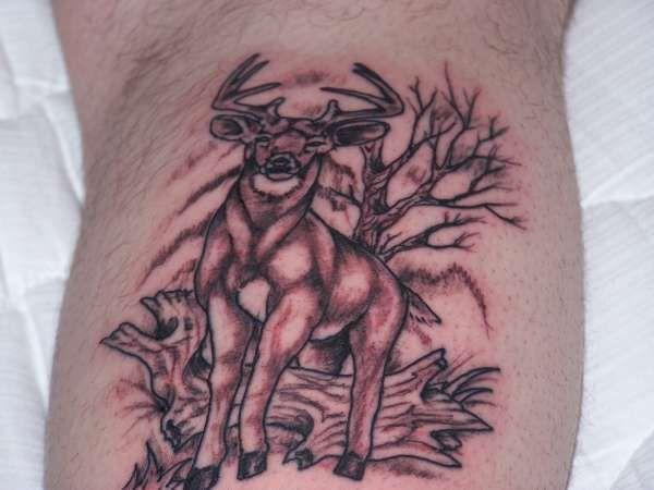 Deer Antler Armband Tattoo Designs Forest Design | Antler ...