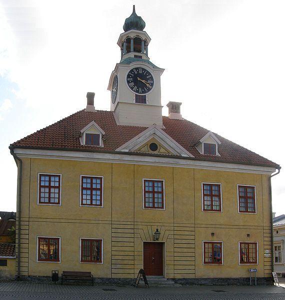 Old Cityhall in Rauma Finland
