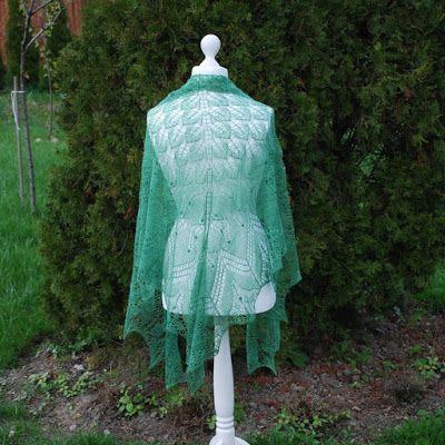 Bergamotka: Aeolian shawl - trochę oszukana
