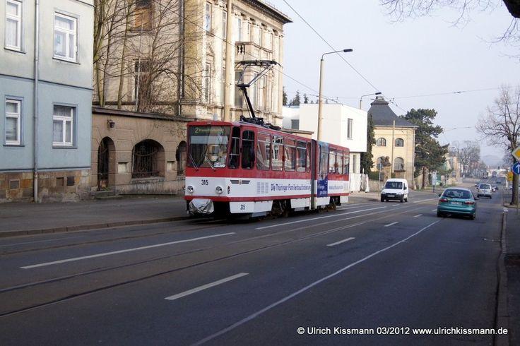 315 Gotha Orangerie 27.03.2012 - CKD KT4DM Baujahr 1990, 2014 modernisiert Choppersteuerung 2006 ex Erfurt 553
