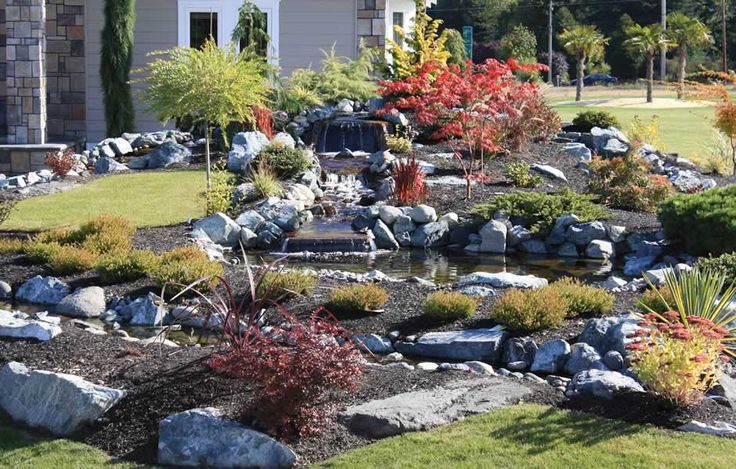 Garden design landscaping tacoma wa and puyallup ponds for Landscaping rocks tacoma