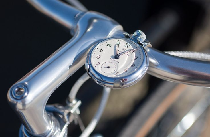 Ingersoll Mounted Pocket Watch with Custom Mounted Handlebar Bracket | Flickr - Photo Sharing!