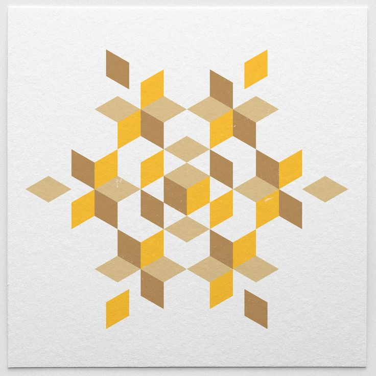 Shapes Designs Art : Made with isometric patterns pinterest art