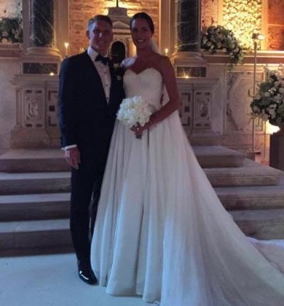 Ana Ivanovic Schweinsteiger wedding 05-06-2016