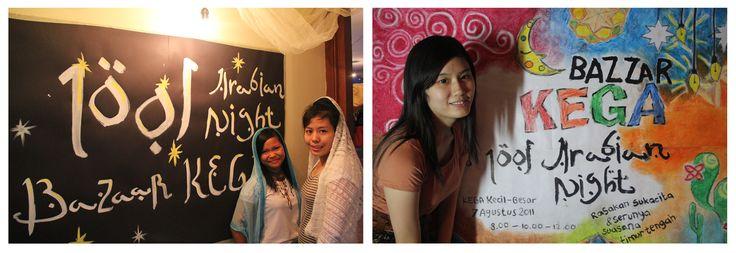 2011 Bazaar KEGA idea : 1001 Arabian Night Handmade Posters