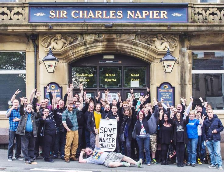 ONE of the craziest men in heavy metal is backing a campaign to save a live music venue in Blackburn.