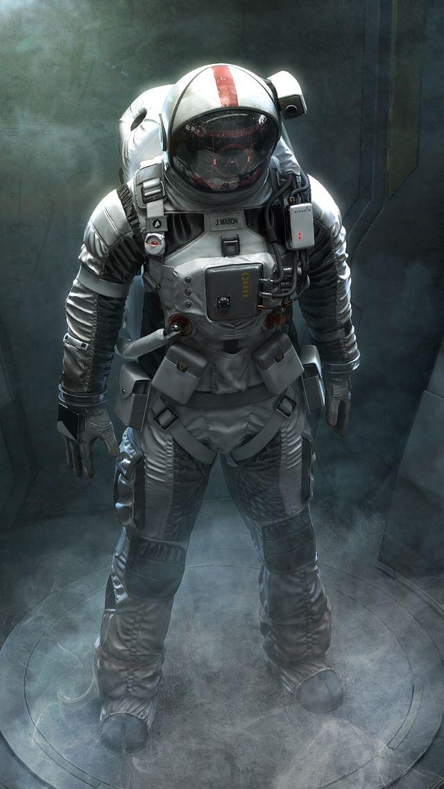 Image by paulaze00 on sci-fi | Space suit, Astronaut art ...