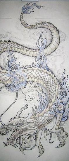 Dragon Tattoo Design | Tattoo Ideas Central #dragon #tattoos #tattoo