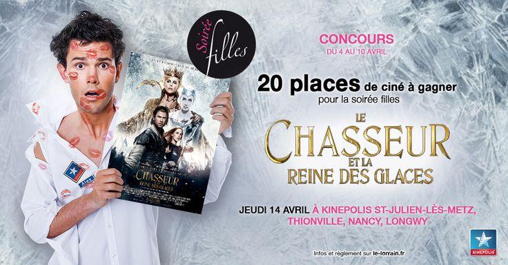 Concours : 20 places de ciné à gagner pour la soirée filles kinepolis du 14 avril 2016 - http://www.le-lorrain.fr/blog/2016/04/05/concours-20-places-de-cine-a-gagner-soiree-filles-kinepolis-14-avril-2016/