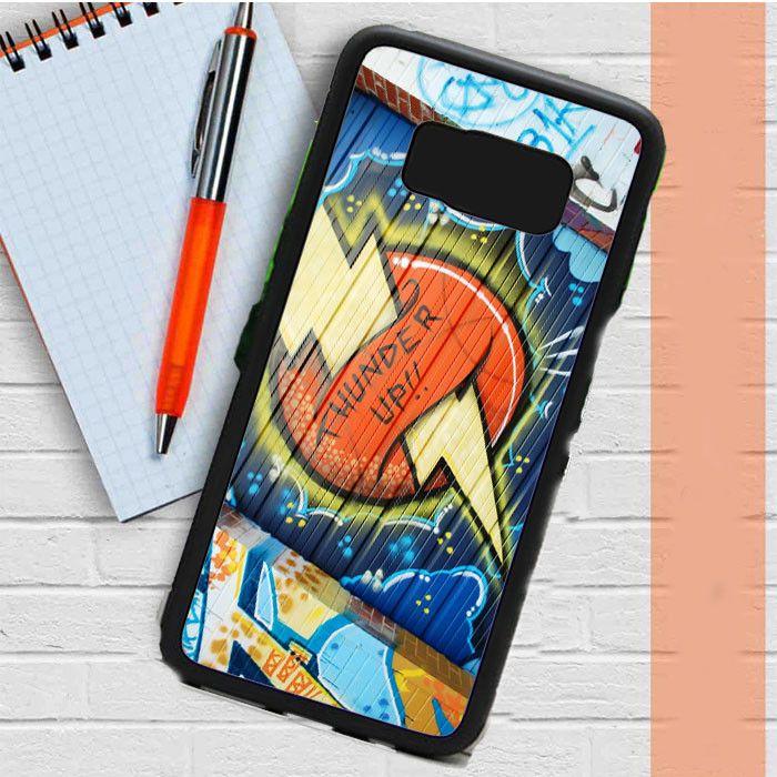 Okc Thunder Graffiti Samsung Galaxy S8 Plus Case Casefreed