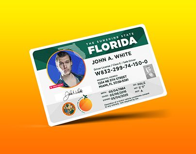 "Check out new work on my @Behance portfolio: ""Redesign: Florida Drivers License"" http://be.net/gallery/55306009/Redesign-Florida-Drivers-License"