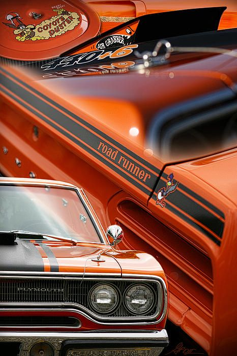 1970 Plymouth Road Runner - by Gordon Dean II