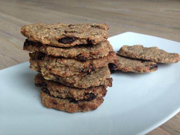 I Love Health | Havermout koekjes || choco en rozijn variatie | http://www.ilovehealth.nl