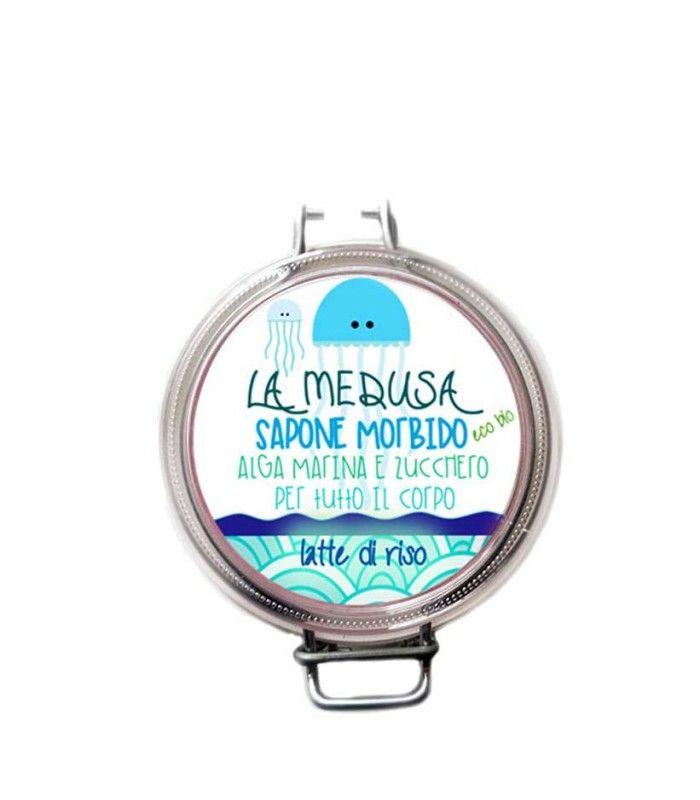 La Medusa Blu – Latte di Riso - Volga cosmetici