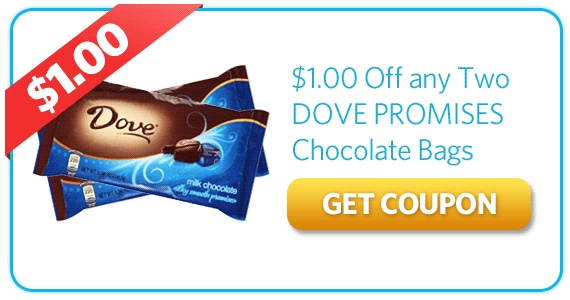 Dove chocolate coupons