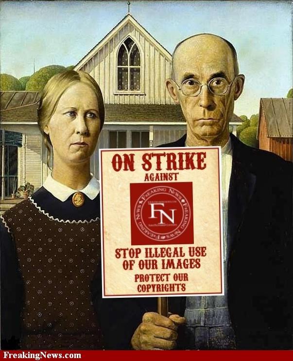American Gothic Strike