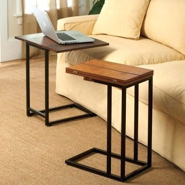 Tv Tray That Slides Under Couch Coffee Table Couch Table