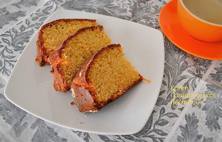 cretangastronomy.gr - Απλό κέικ πορτοκαλιού με ελαιόλαδο