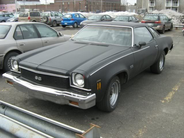 1973 chevelle ss chevrolet el camino 1975 a vendre luv for Interieur 78