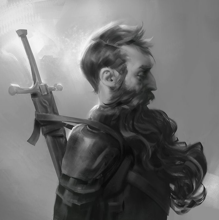 ArtStation - Channeling my inner beard, Ayran Oberto ★ Find more at http://www.pinterest.com/competing/