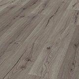 [neu.haus] Laminat Vinyl-Boden Eiche grau 1m² - PVC-Design-Bodenbelag mit gefühlsechter Holz-Struktur stark strukturiert Planken zum Kleben - 4 Dekor Dielen = 1,114 qm: Amazon.de: Küche & Haushalt