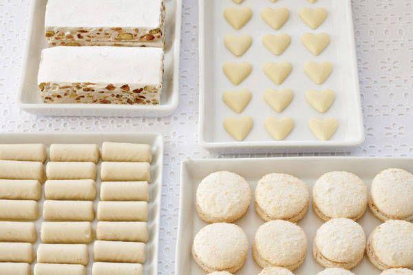 Il tavolo dei dolci della sposa