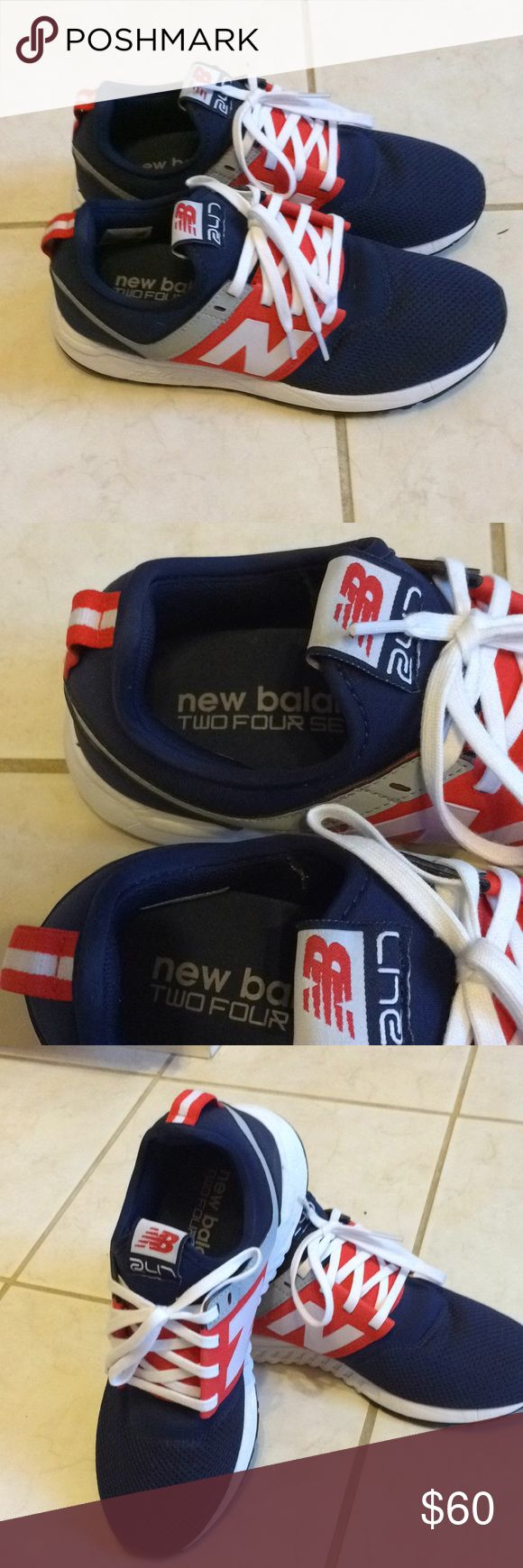 New balance Perfect condition like new!! These lightweight new balance.very cute shoes and comfortable. New Balance Shoes