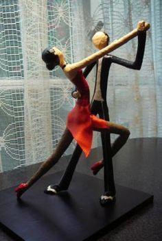 bailarines de tango