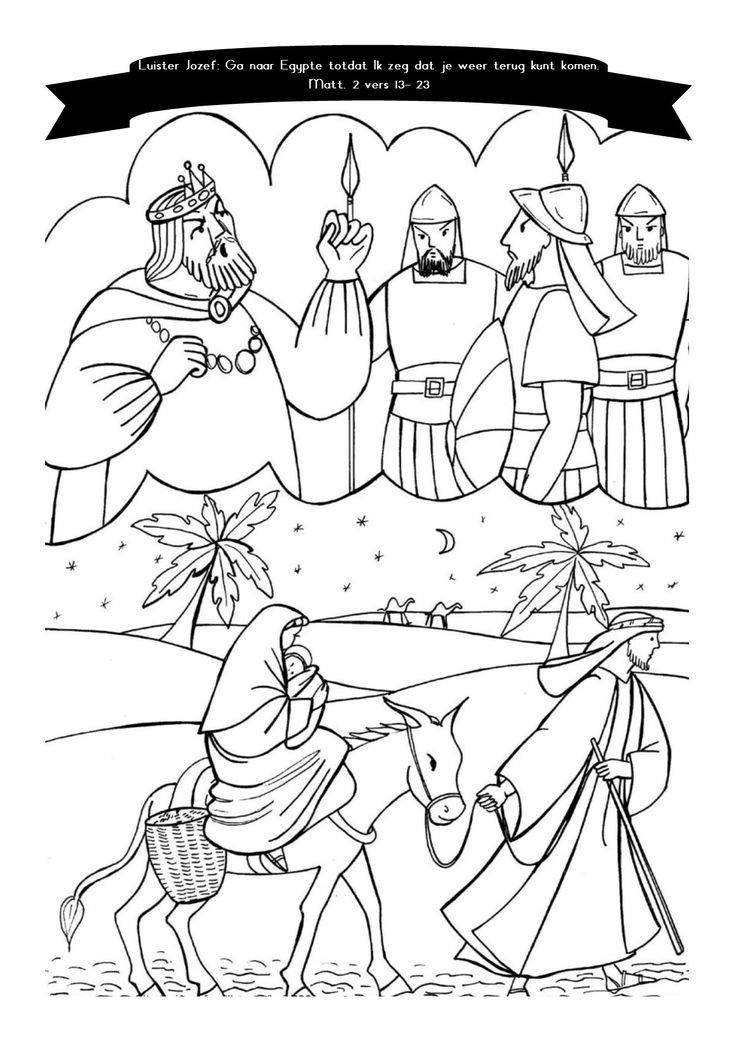 vlucht naar egypte mattheus 2 vers 13 23 bijbel