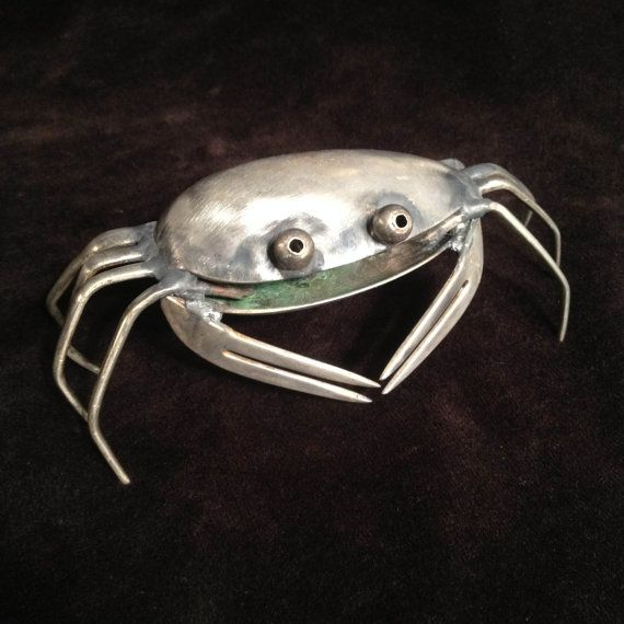 Hey, I found this really awesome Etsy listing at https://www.etsy.com/listing/109992428/spoon-crab