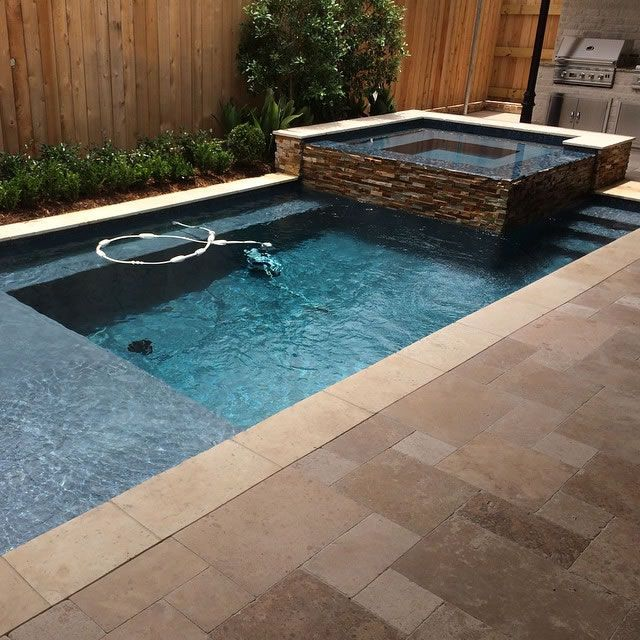 Rectangular Pools Crystal Pools And Spas Rectangular Pool Small Backyard Pools Pools For Small Yards