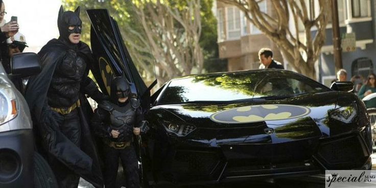 San Francisco Gotham Şehri'ne Dönüştü Ve BatKid Tüm Şehri Kurtardı