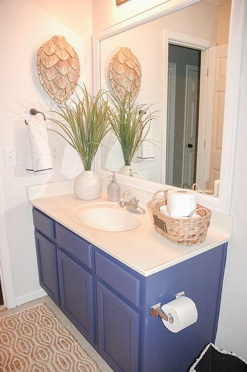 royal blue bathroom. Royal Blue Bathroom Vanity  Makeover DIY The 25 best blue bathrooms ideas on Pinterest Delphinium