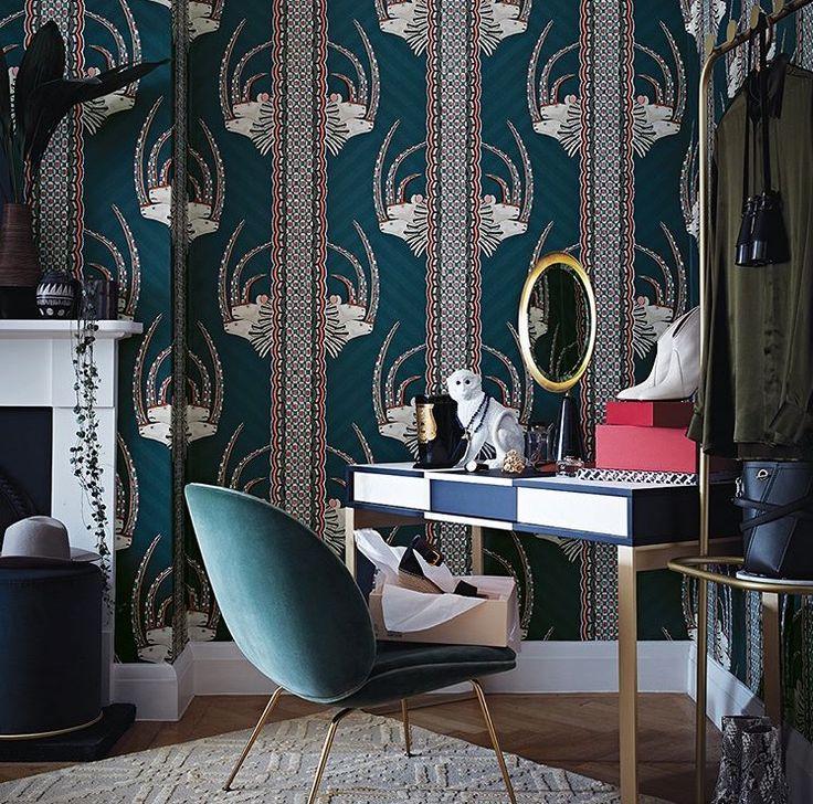 Ardmore Cole and Son Wallpaper Jabu Design.