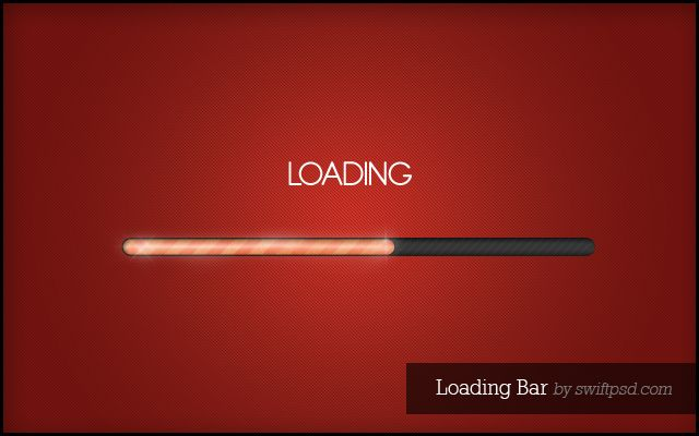25+ Free PSD Loading and Progress Bar Designs