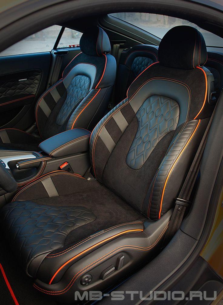 Интерьер Audi TT. Версия Exclusive Salon для Audi от MBS